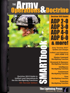 The Army Operations & Doctrine SMARTbook, 5th Rev. Ed. (PREVIOUS EDITION)