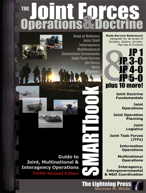 The Joint Forces Operations & Doctrine SMARTbook, 3rd Rev. Ed. (PREVIOUS EDITION)
