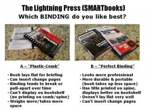 Plastic-Comb vs Perfect-Binding