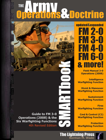 The Army Operations & Doctrine SMARTbook, 4th Rev. Ed. (PREVIOUS EDITION)