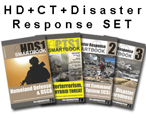 The 'HOMELAND DEFENSE + COUNTERTERRORISM + DISASTER RESPONSE' SMARTset (4 books)