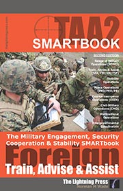 TAA2: The Military Engagement, Security Cooperation & Stability SMARTbook, 2nd Ed. (PREVIOUS EDITION)