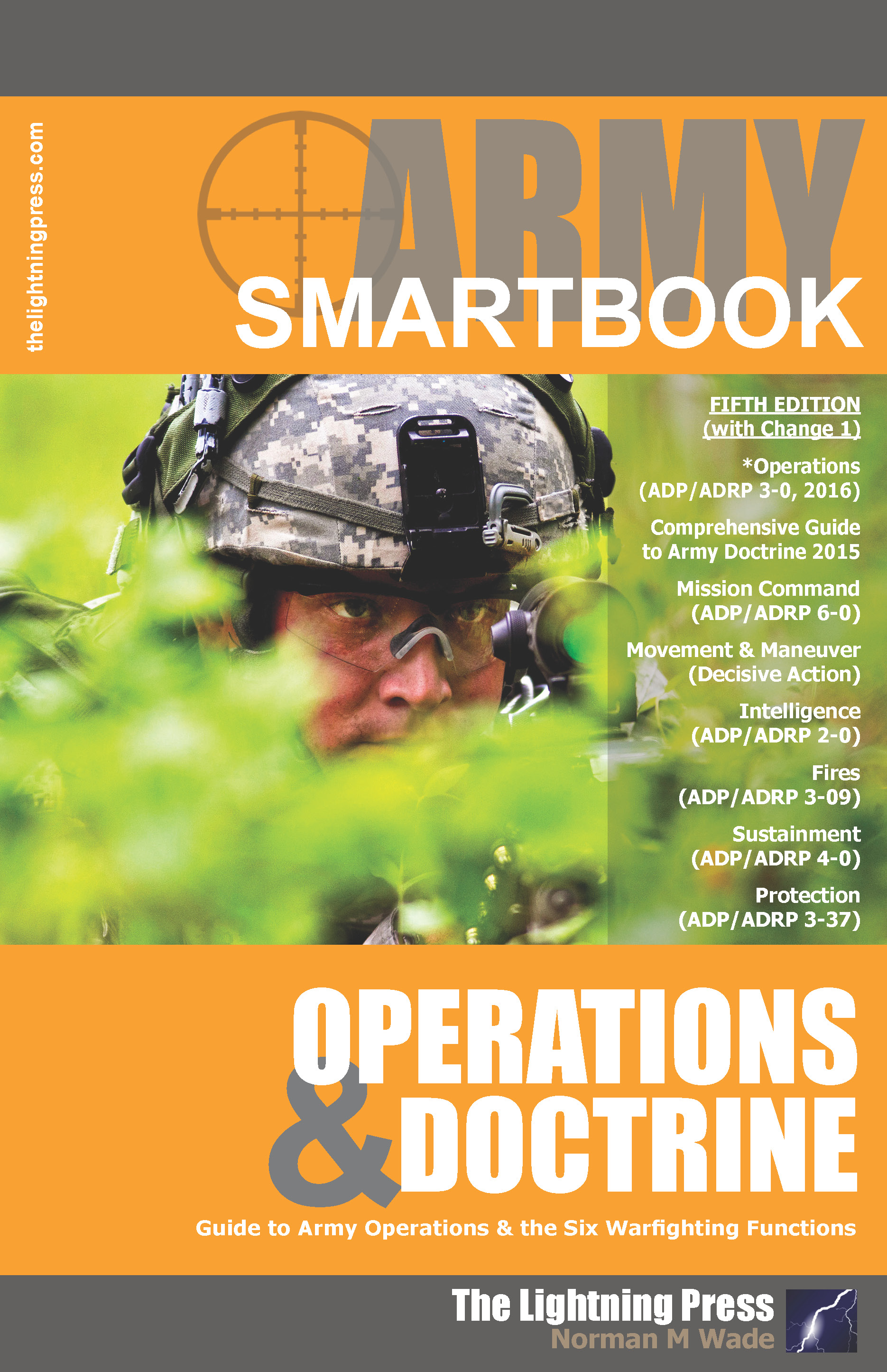 AODS5: The Army Operations & Doctrine SMARTbook, 5th Ed. w/Change 1 (PREVIOUS EDITION)