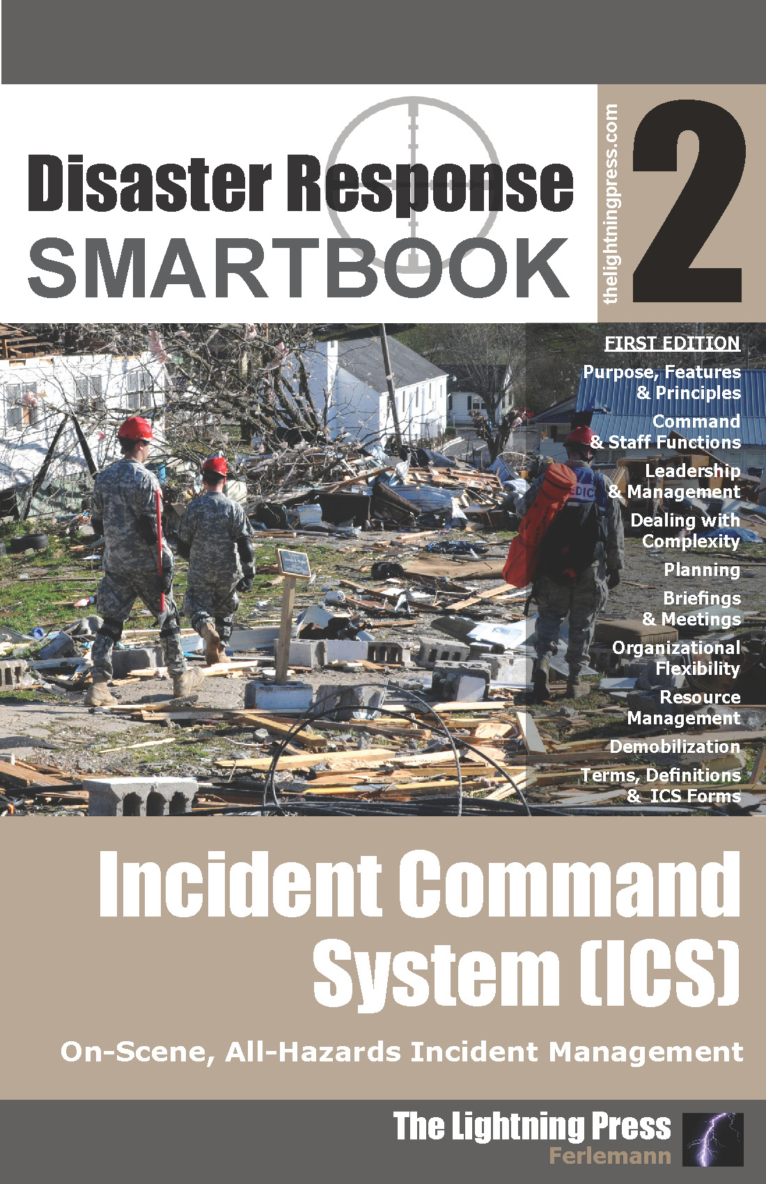 Disaster Response SMARTbook 2 – Incident Command System (ICS)
